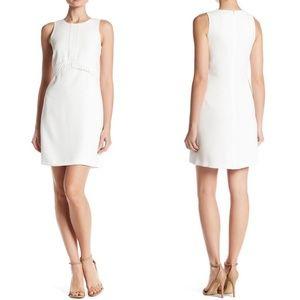 Shoshanna Julienne Ivory Sheath Dress 8